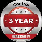 Control 3 Year Warranty